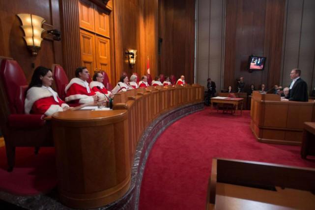 Le bilinguisme des juges à la Cour suprême... (Archives La Presse Canadienne)