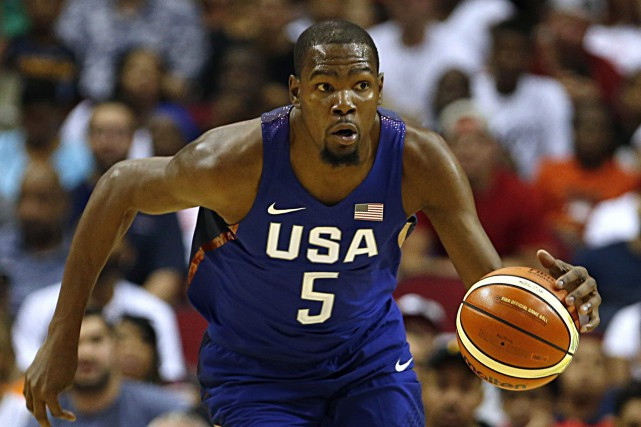 Kevin Durant... (Photo James Nielsen, AP)