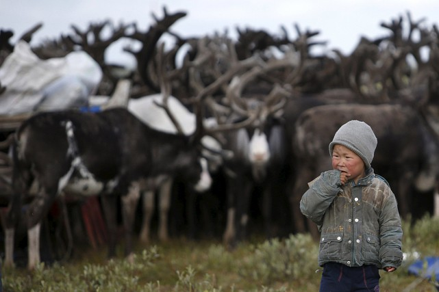 C'est dans le district autonome de Yamalo-Nenets qu'a... (Photo Sergei Karpukhin, archives Reuters)