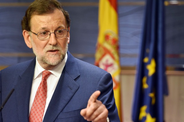Mariano Rajoy =.... (photo GERARD JULIEN, AFP)