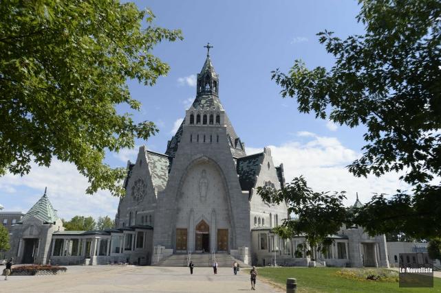 Le Sanctuaire Notre-Dame-du-Cap... (Photo: Olivier Croteau Le Nouvelliste)