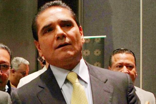Le gouverneur de l'État du Michoacán, Silvano Aureoles,... (photo Quadratín/lopezdoriga.com)