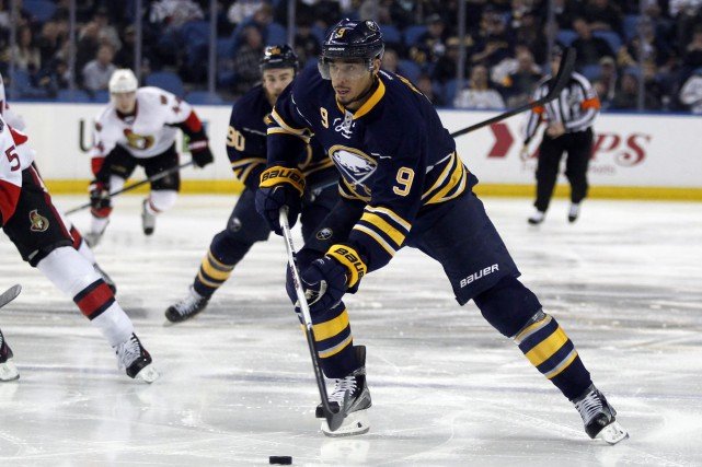 Evander Kane... (Photo Timothy T. Ludwig, archives USA Today Sports)