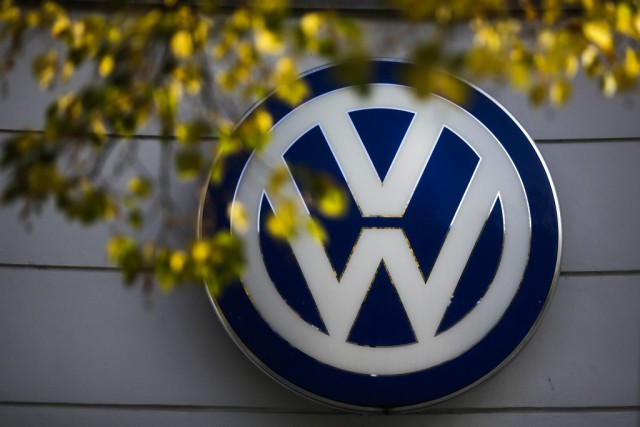 L'action de Volks a bondi récemment quand la... (Photo : ap)