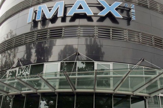 Un cinéma IMAX à Vienne.... (PHOTO ARCHIVES AP)