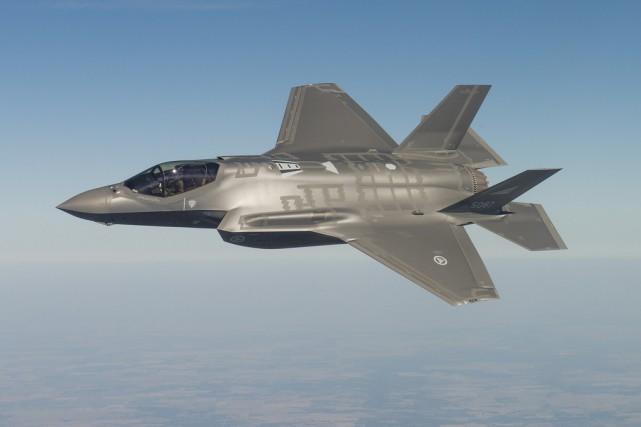 Un F-35.... (Courtoisie)