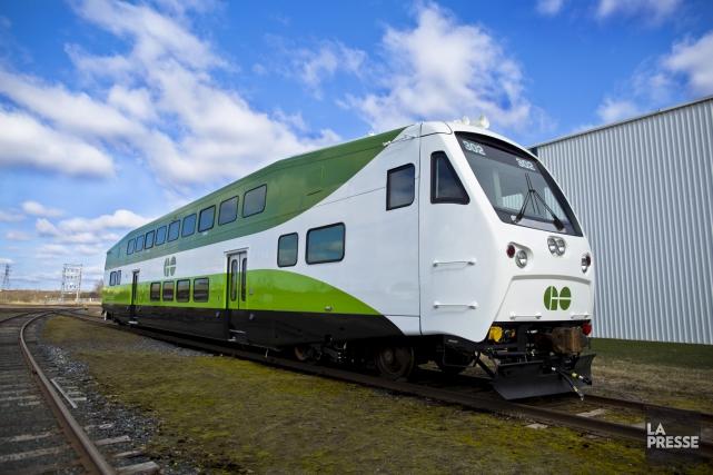 En dépit de ses problèmes de livraison en Ontario, Bombardier fournira 125... (fournie par Bombardier)