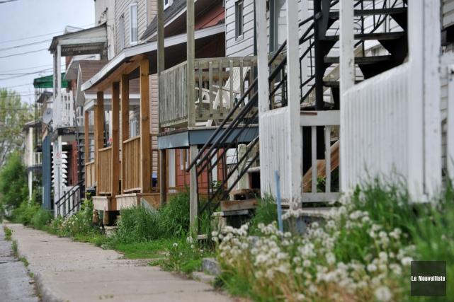 Trois-Rivières, c'est aussi les premiers quartiers.... (Stéphane Lessard, Le Nouvelliste)