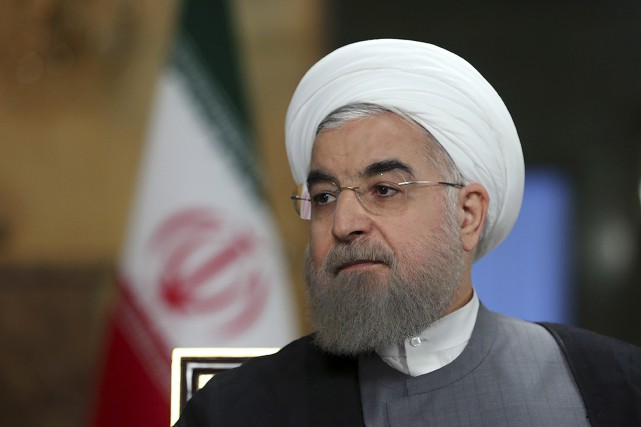Le président iranien Hassan Rohani... (PHOTO ARCHIVES ASSOCIATED PRESS)