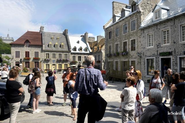 Déjà au début de l'été, l'Office du tourisme... (Le Soleil, Jean-Marie Villeneuve)