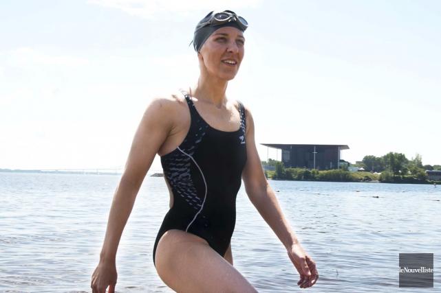La Sirène du Québec, Heidi Levasseur est prête... (Sylvain Mayer, Le Nouvelliste)