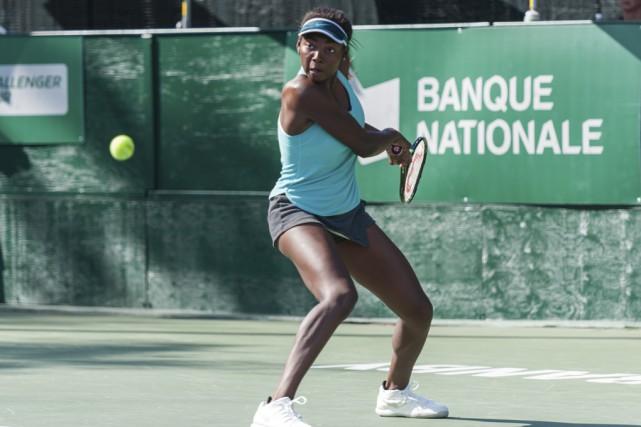 Françoise Abanda s'est imposée comme la meilleure joueuse... (Sarah-Jäde Champagne)