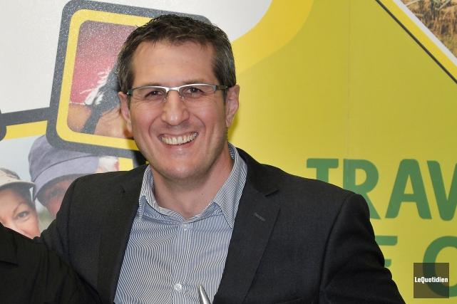 Maxime Tremblay est le nouveau président de la... (Archives Le Quotidien, Rocket Lavoie)