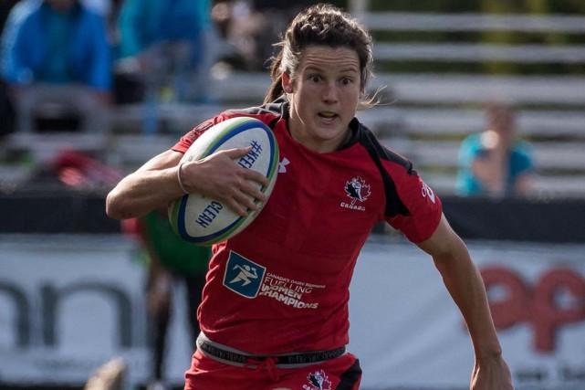 Elissa Alarie ne sait pas encore si elle... (Rugby Canada)