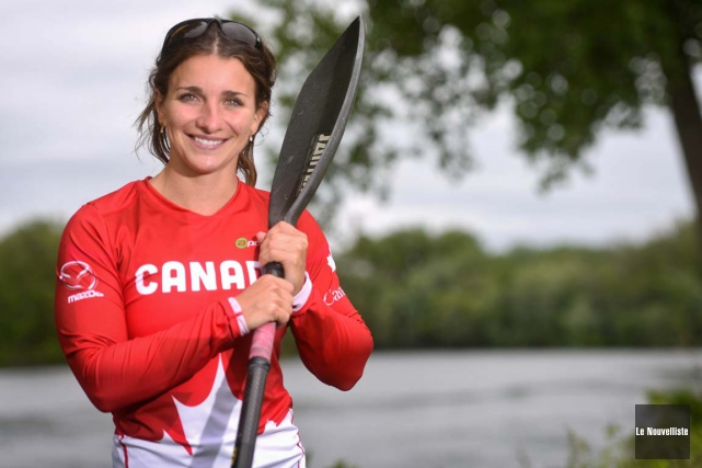 Andréanne Langlois participera aux Jeux olympiques de Rio... (François Gervais, Le Nouvelliste)