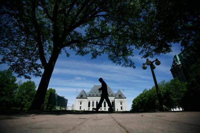 Le Québec compte trois sièges à la Cour... (ARCHIVES REUTERS)