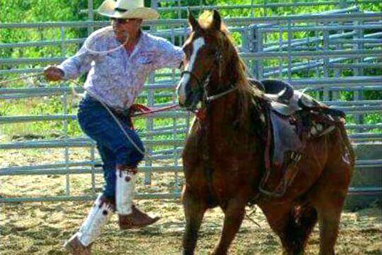 Pascal Ricard de l'Association des cowboys de l'est...
