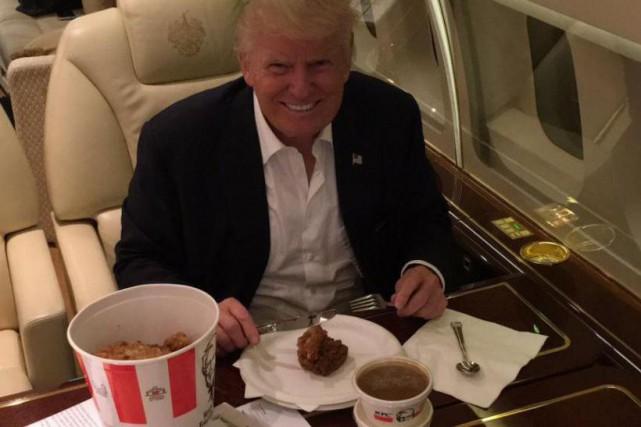 Le candidat républicain à la présidentielle américaine a... (PHoto tirée du compte Twitter de Donald J. Trump)