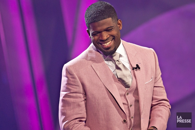 P.K. Subban a animé le spectacle All-Star Comedy Gala...