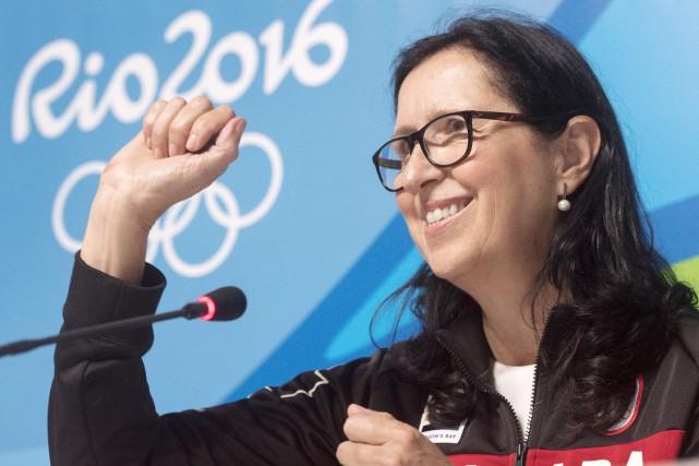 La présidente du Comité olympique canadien (COC), Tricia... (Archives La Presse canadienne, Ryan Remiorz)