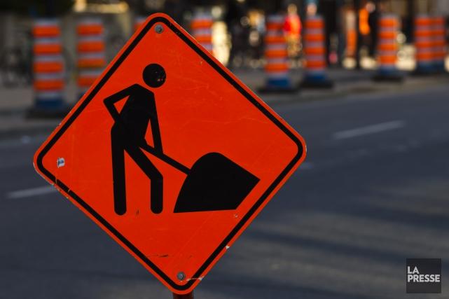 Alors que des milliers de travailleurs sont retournés sur les chantiers de... (Photothèque La Presse)