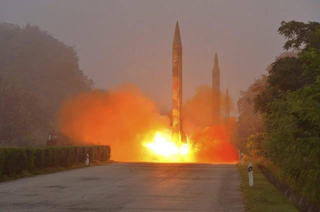 Malgré les avertissements et les sanctions, la Corée... (AFP)