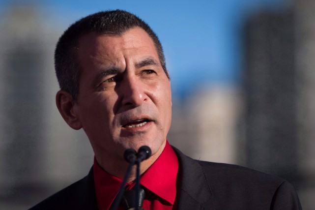 Hunter Tootoo... (Photo Darryl Dyck, La Presse Canadienne)
