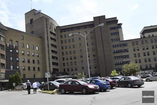 L'agrandissement du bloc opératoire de l'hôpital de Chicoutimi... (Photo Le Quotidien, Mariane L. St-Gelais)