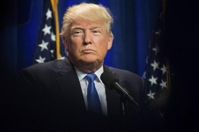ÉDITORIAL / Le discours protectionniste du candidat républicain Donald Trump... (The New York Times)