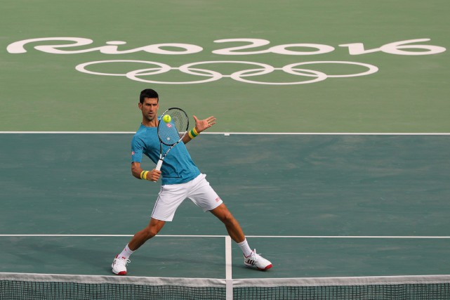 Novak Djokovic... (Photo Vadim Ghirda, AP)