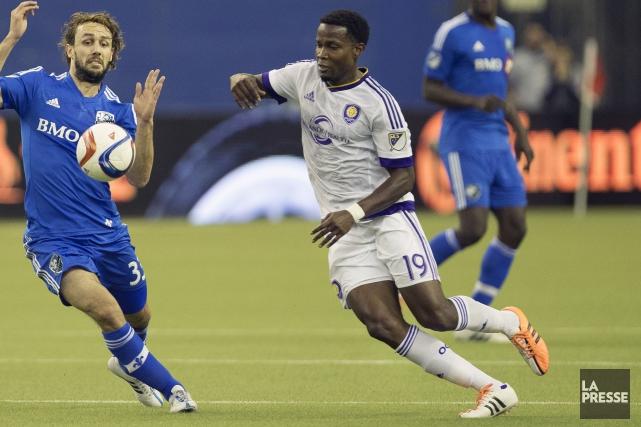 Danny Mwangaétait avec Orlando City SC, dans la... (Robert Skinner, Archives La Presse)