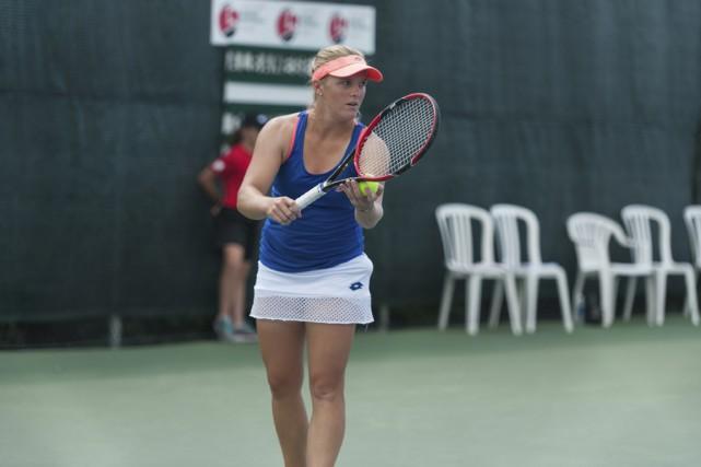 Mélanie Oudin a atteint les quarts de finale... (Sarah-Jäde Champagne)