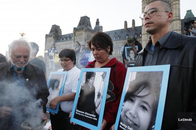 Le 6 septembre 2008, Maisy Odjick, 16 ans,... (Simon Séguin-Bertrand, Archives LeDroit)
