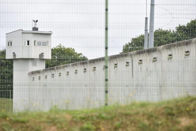 La prison Le Mans-Les Croisettes.... (Photo JEAN-FRANCOIS MONIER, Agence France-Presse)