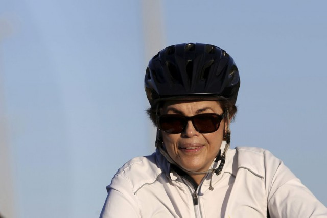 Dilma Rousseff... (PHOTO ADRIANO MACHADO, ARCHIVES REUTERS)