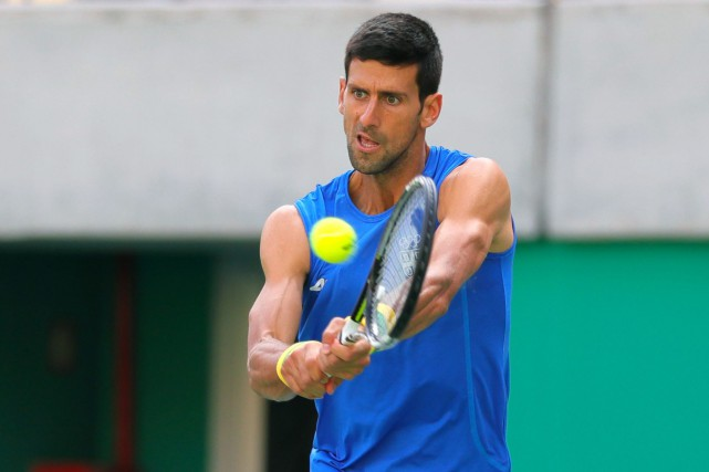 Novak Djokovic... (Photo Vadim Ghirda, AP)