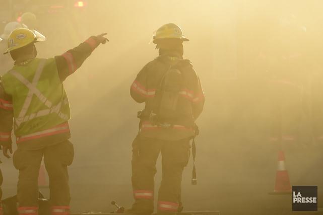 Un incendie a endommagé les installations de la compagnie Belle-Ripe dans la... (Archives La Presse)