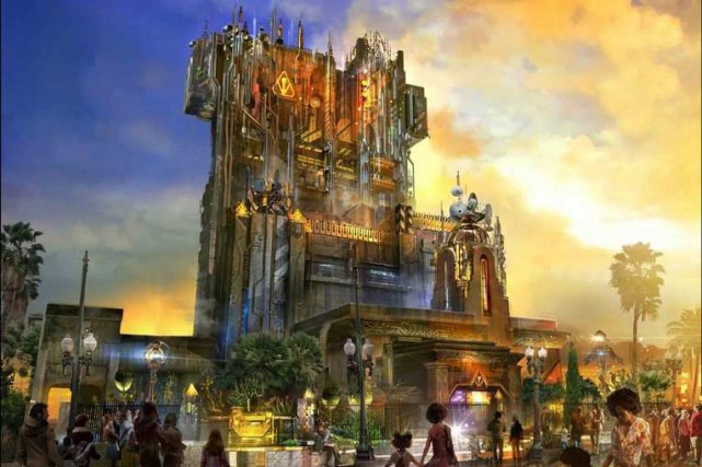 Disneyland a annoncé l'ouverture de l'attraction Guardians of... (PHOTO FOURNIE PAR DISNEY)