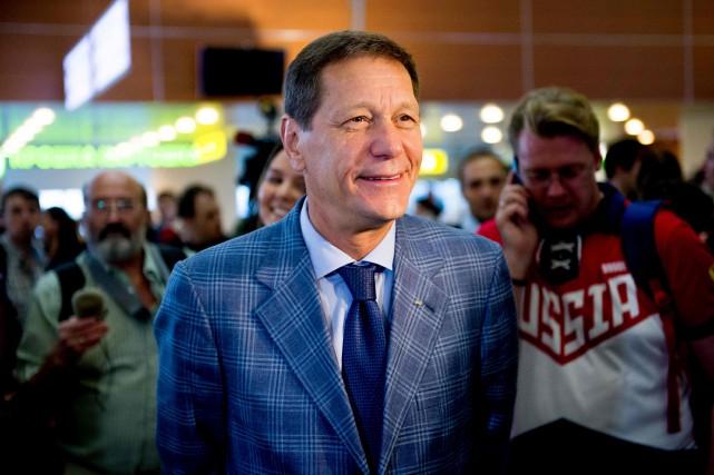 Le président du Comité olympique russe, Alexandre Joukov.... (PHOTO ALEXANDER UTKIN, AFP)