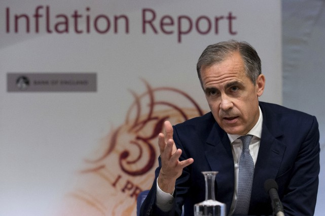 Dans ce contexte difficile, la Banque d'Angleterre et... (AFP, Justin Tallis)