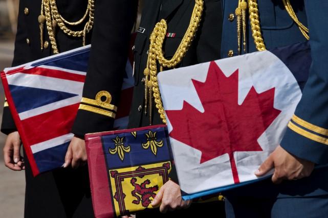 Un lieutenant-colonel britannique affecté temporairement à Kingston, en... (Archives, La Presse canadienne)