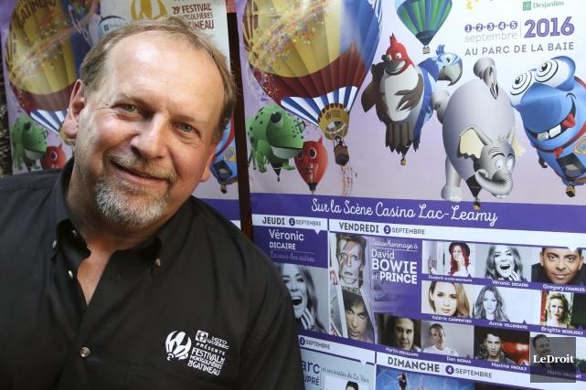 Le président du Festival de montgolfières de Gatineau,... (Patrick Woodbury, LeDroit)