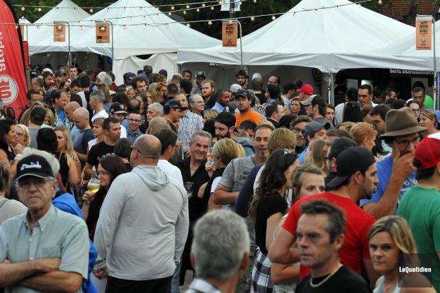 L'édition 2016 du Festival des bières du monde... (Archives Le Quotidien, Rocket Lavoie)