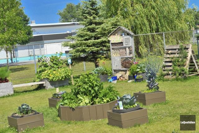 Le comité École-Famille-Communauté du quartier Naudville d'Alma procédait,... (Photo Le Quotidien, Gimmy Desbiens)