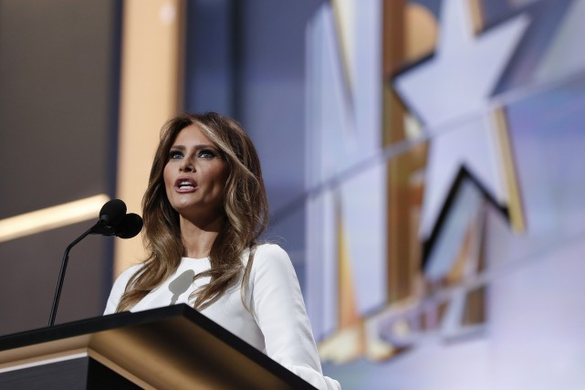 Melania Trump... (Photo Carolyn Kaster, AP)