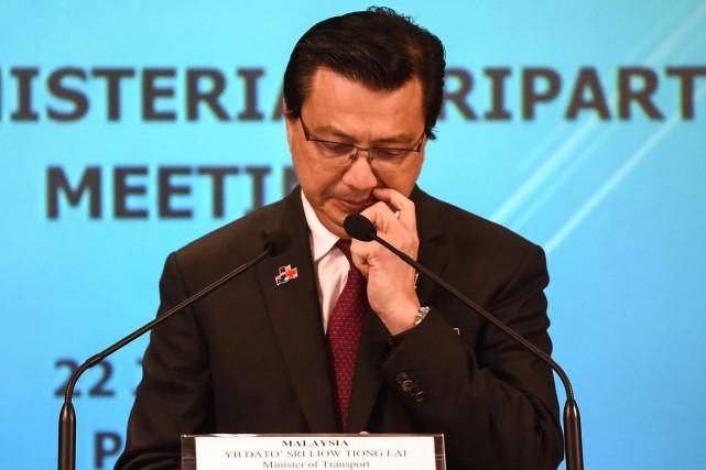 Le ministre des Transports de la Malaisie, Liow... (photo  MOHD RASFAN, archives AFP)