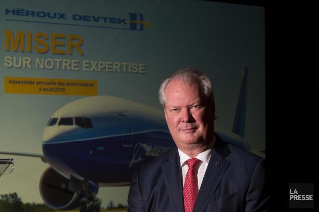 Le PDG d'Héroux-Devtek Gilles Labbé.... (PHOTO IVANOH DEMERS, LA PRESSE)