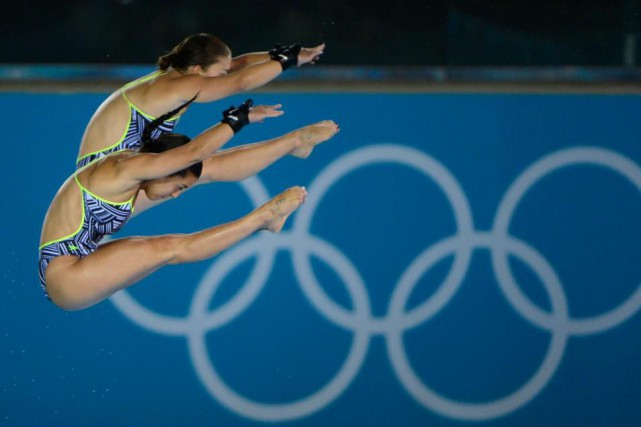 Aux Jeux olympiques de Londres, en 2012, Meaghan... (Photo Bernard Brault, Archives La Presse)
