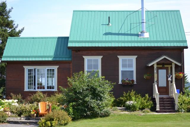 Une ancienne école située sur le rang St-Martin à Chicoutimi a non seulement... (Claudie Laroche)