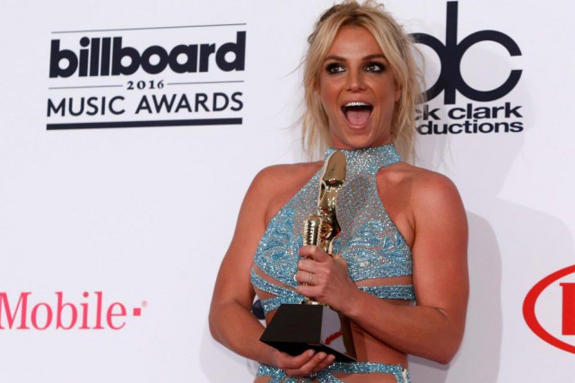 En mai dernier, Britney Spears a reçu un... (Photo Steve Marcus, Archives Reuters)
